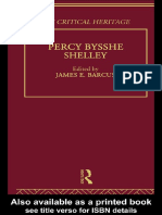 (Critical heritage series) Shelley, Percy Bysshe_ Boulton, James T._ Shelley, Percy Bysshe-Percy Bysshe Shelley-Routledge (1975).pdf