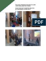 Foto Bukti Sosialisasi Peningkatan Mutu Klinis Dan Keselamatan Pasien