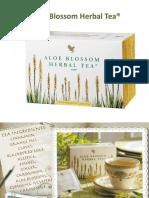 Aloe Blosson Herbal Tea