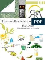 9- Recursos Renovables Alternativos - Microalgas
