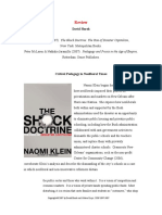 Naomi Klein's 'The Shock Doctrine [The Rise Of Disaster Capitalism]'.pdf