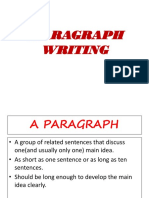 Academicwriting Paragraph