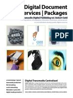 Robert Cettl Digital Publishing Products and Services  Guide