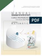 Manual Del Docente Matematicas 2017