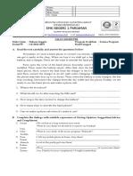 Soal Ujian Smt IV Kls Xi