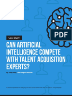 Can Artificial Intelligence Compete With Talent Acquisition Experts?