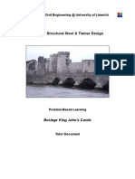 CE4024 Timber & Steel Design - PBL Tutor Document - RevE