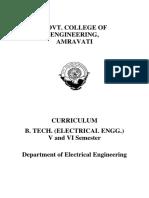 B.tech. III- Electrical Engg 2012-2013
