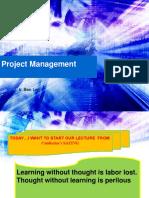 EV409 3c Project Management