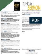 Growth Guide Week of August 7