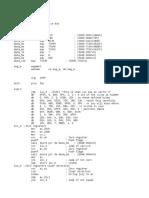 The Michaelangelo Virus Source Code