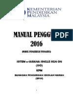 Manual Pengguna Esarana 2016