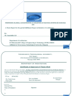 Global Catastrophe & Disaster Mitigation-Thesis
