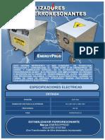 ESTABILIZADOR FERRORESONANTE DE 10 KVA - 8 KW  220-110 VAC   ENERGYPROD   02-08-17.pdf