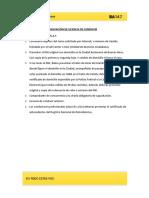 Checklist Renovacion de Licencias