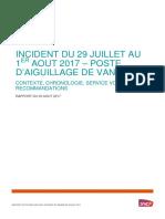 Le rapport de la SNCF sur la panne à la gare Montparnasse