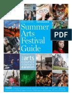 Summer Arts Festival Guide 2017