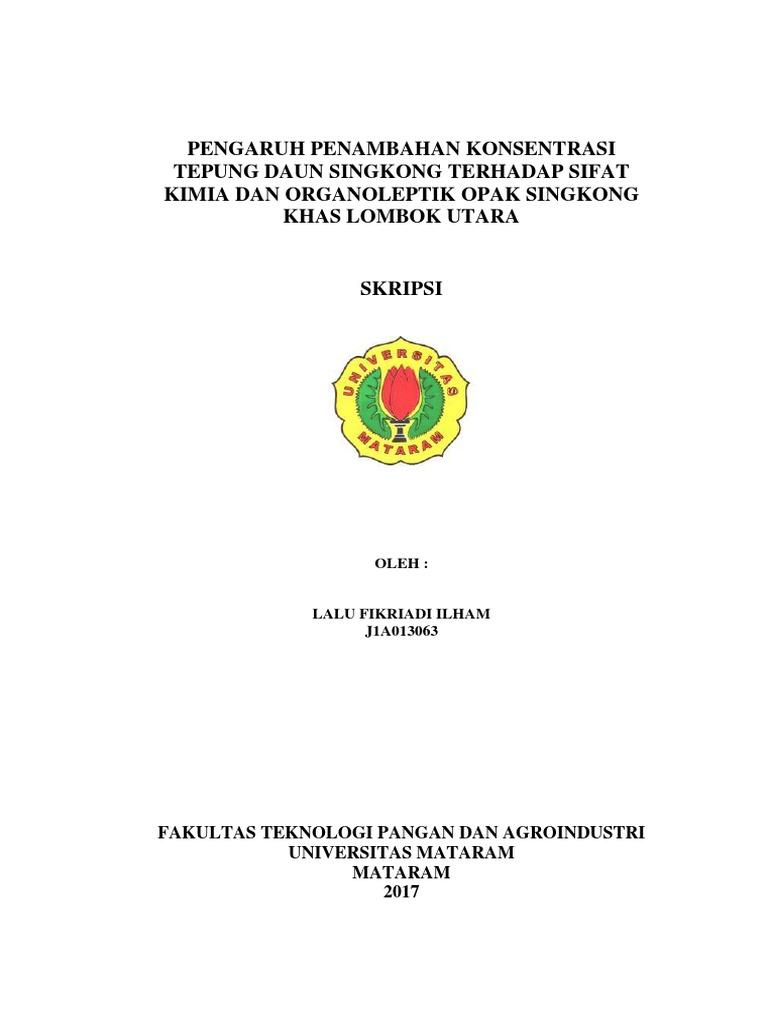 Skripsi Lalu Fikriadi Ilham J1a013063