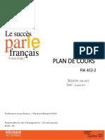 Plan Cours FIA412-2