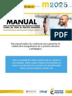 MANUAL PARA AUTOGRABACION CON CELULAR O CAMARA CASERA DEL VIDEO DE PRACTICA EDUCATIVA.pdf