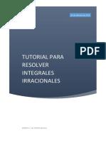 INTEGRALES IRRACIONALES