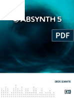 Absynth 5 Getting Started German