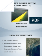 Venice Tide Barrier System-The Mose Project