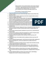 Listado Doc Patricio