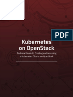 Kubernetes on OpenStack eBook Final