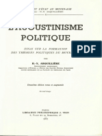 L'Agustinisme Politique