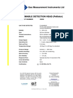 GMS Flammable DetectionHead
