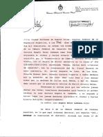 La Cámara Federal de Casación anuló el sobreseimiento de Carlos Menem en la causa por la explosión de la Fábrica Militar de Río Tercero Lo resolvió por mayoría la Sala II. Hizo lugar a los recursos presentados por la Fiscalía y la querella contra un fallo de la Cámara Federal de Córdoba.
