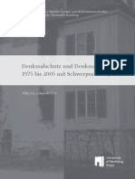 UNIVERSITÄT BAMBERG Denkmalschutz Und Denkmalpflege Von 1975 Bis 2005 Mit Schwerpunkt Bayern.pdf