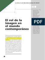 El Rol de La Imagen en El Mundo Contemporaneo