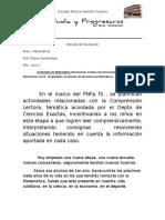 Propuesta Didáctica 1er Año_Diagnóstico y Desarrollo