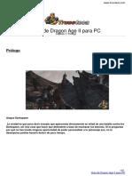 Guia Trucoteca Dragon Age II Pc
