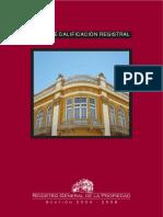 14750662 Guias de Calificacion Registral Guatemala