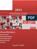 220542700 Strategic Audit