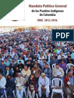 Mandato-Político-General-Pueblos-Indígenas onic 2016