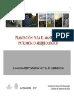 Planeacion Para El Manejo Del Patrimonio Arqueologico_INAH