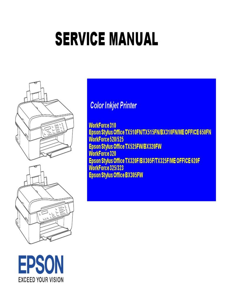 Epson Wf 310 520 525 320 325 323 Printer Computing Image Scanner China Circuit Breaker Box Cb08