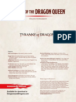 Horde Of The Dragon Queen Pdf Dungeons Dragons Tsr Inc Uloz.to is the largest czech cloud storage. scribd