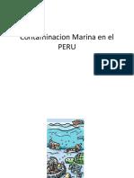 Contaminacion Marina en El PERU