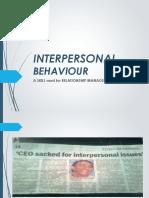 Inter Personal Behavior