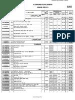 Catálogo Camisa Centrifugal Diesel