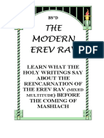 The Modern Erev Rav-e