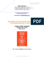 Nociones de Doctrina Secreta de La FM Filosofica