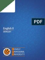Deng201 English II