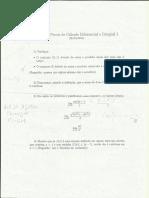 P1 de Cálculo 1- Mário Matos DM- Departamento de Matemática UFSCar