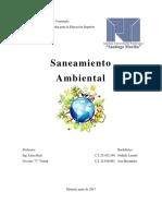 Trabajo 1er Corte 10% Saneamiento Ambiental